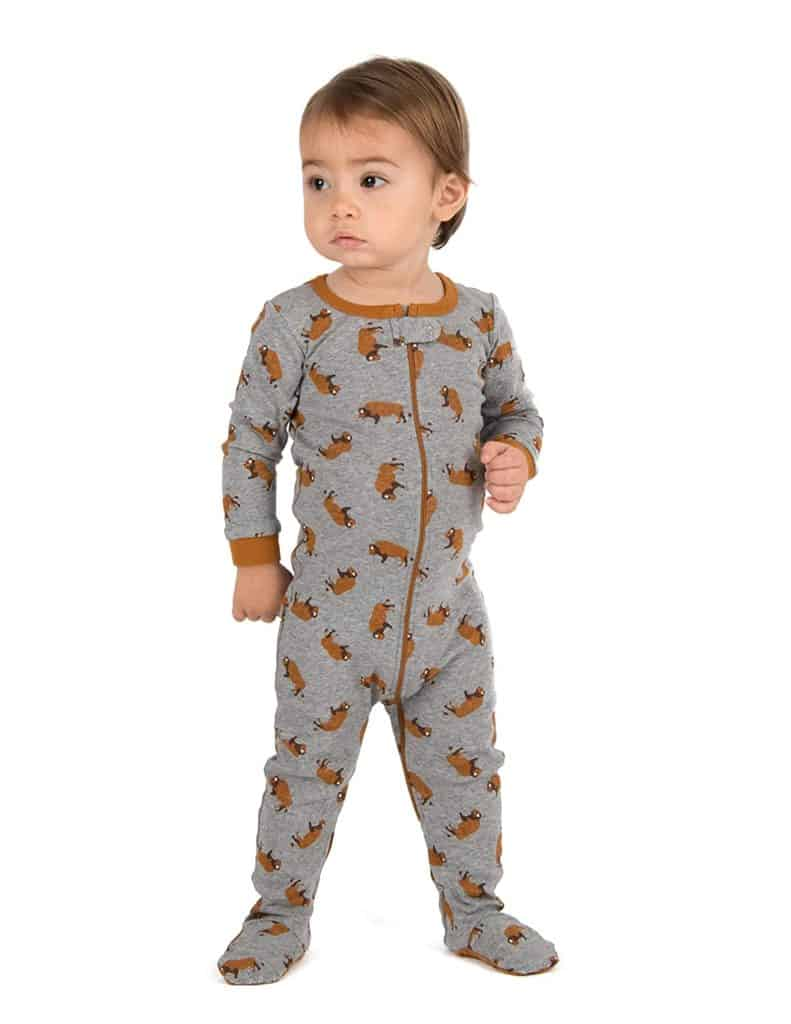 Leveret Baby Girls Footed Pajamas Parenthoodbliss