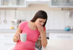 metallic taste in mouth during pregnancy