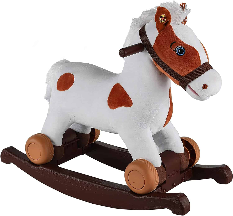 Rockin' Rider Carrot 2-in-1 Pony Plush Ride-On
