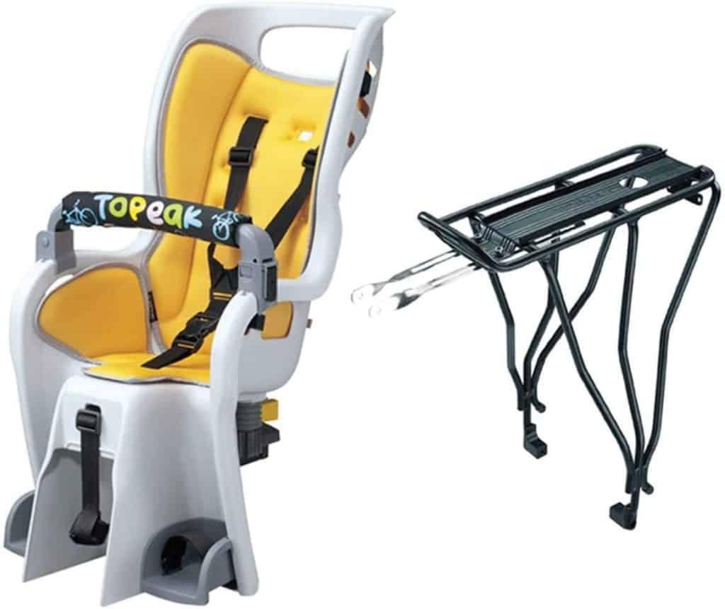 Topeak BabySeat II Child bike seat Parenthoodbliss