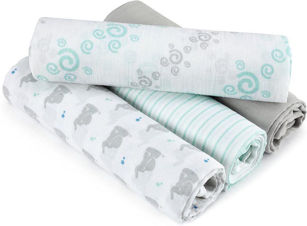Aden + Anais swaddle blanket nursing cover