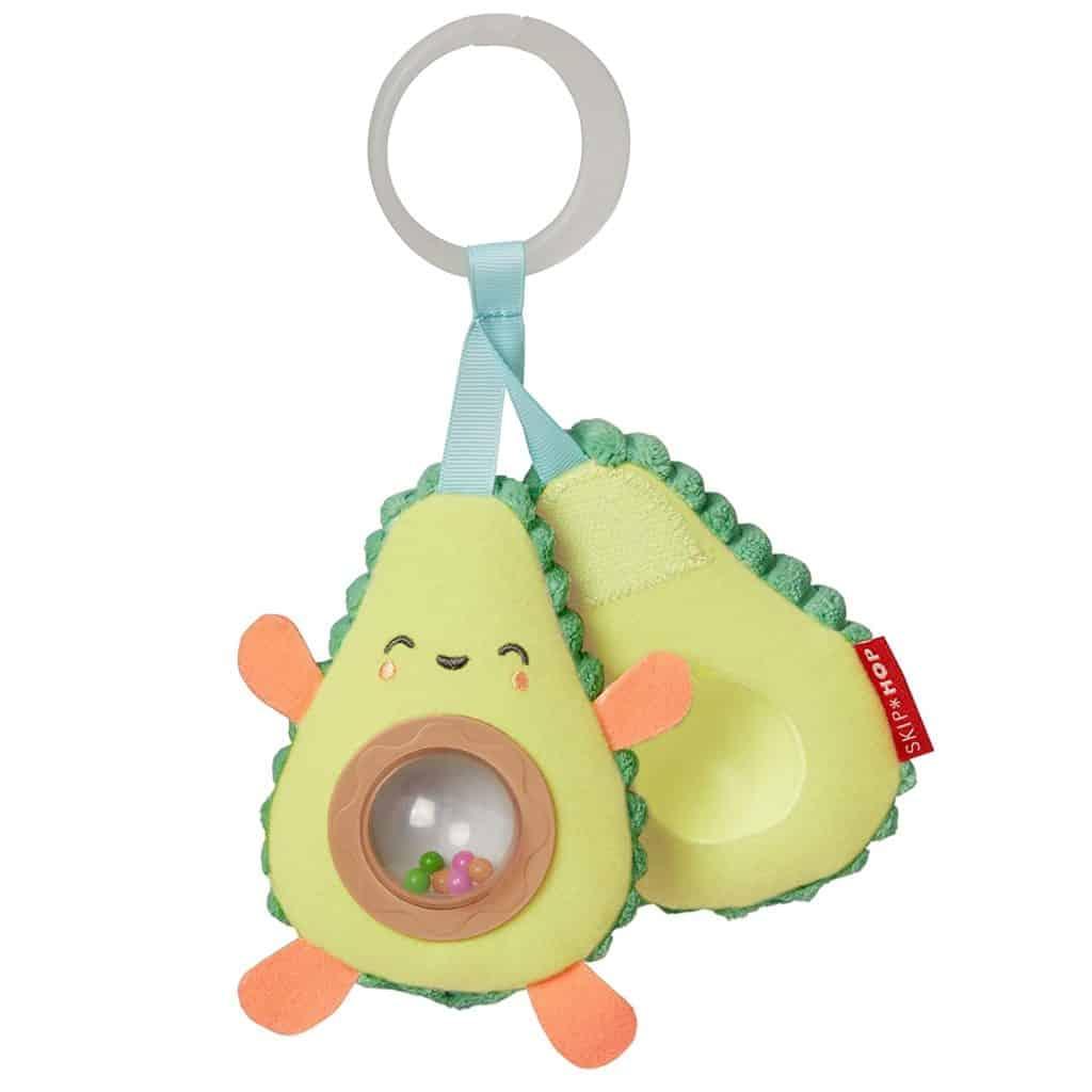 Avocado farmstand guitar - light and sound toys for babies