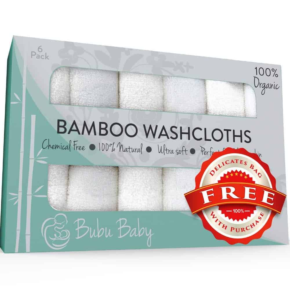 Bamboo Soft towels and washcloths, set of 6