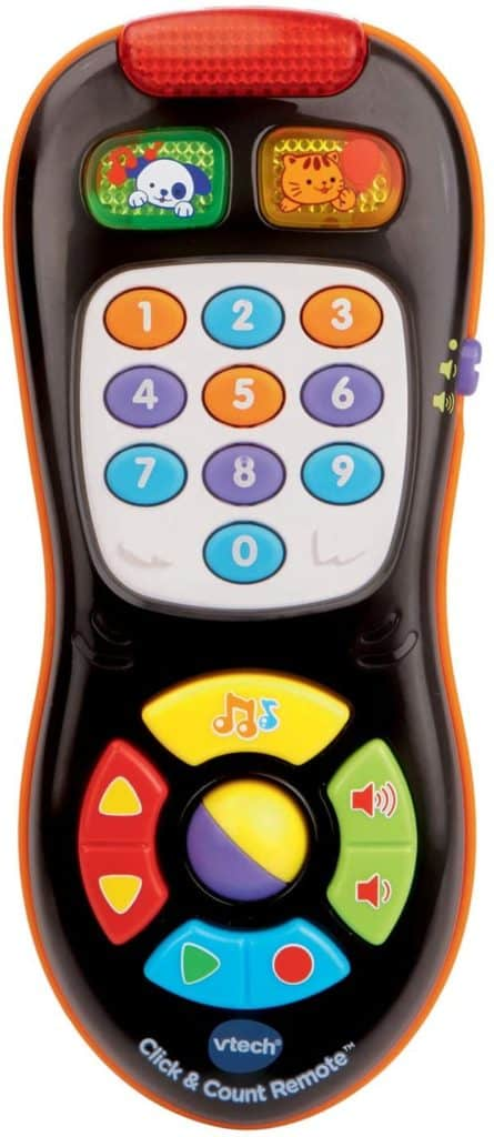 Click and count remote stocking stuffer for kids