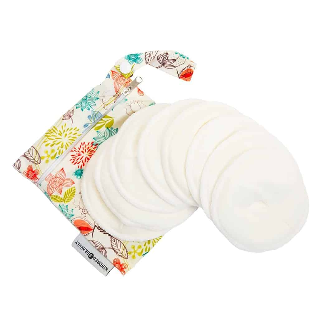 Kindred Bravely Washable Organic Nursing Pads