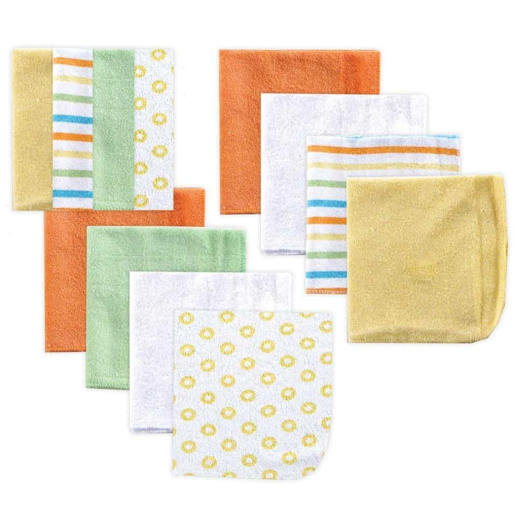 Luvable Friends softest baby washcloths, set of 12