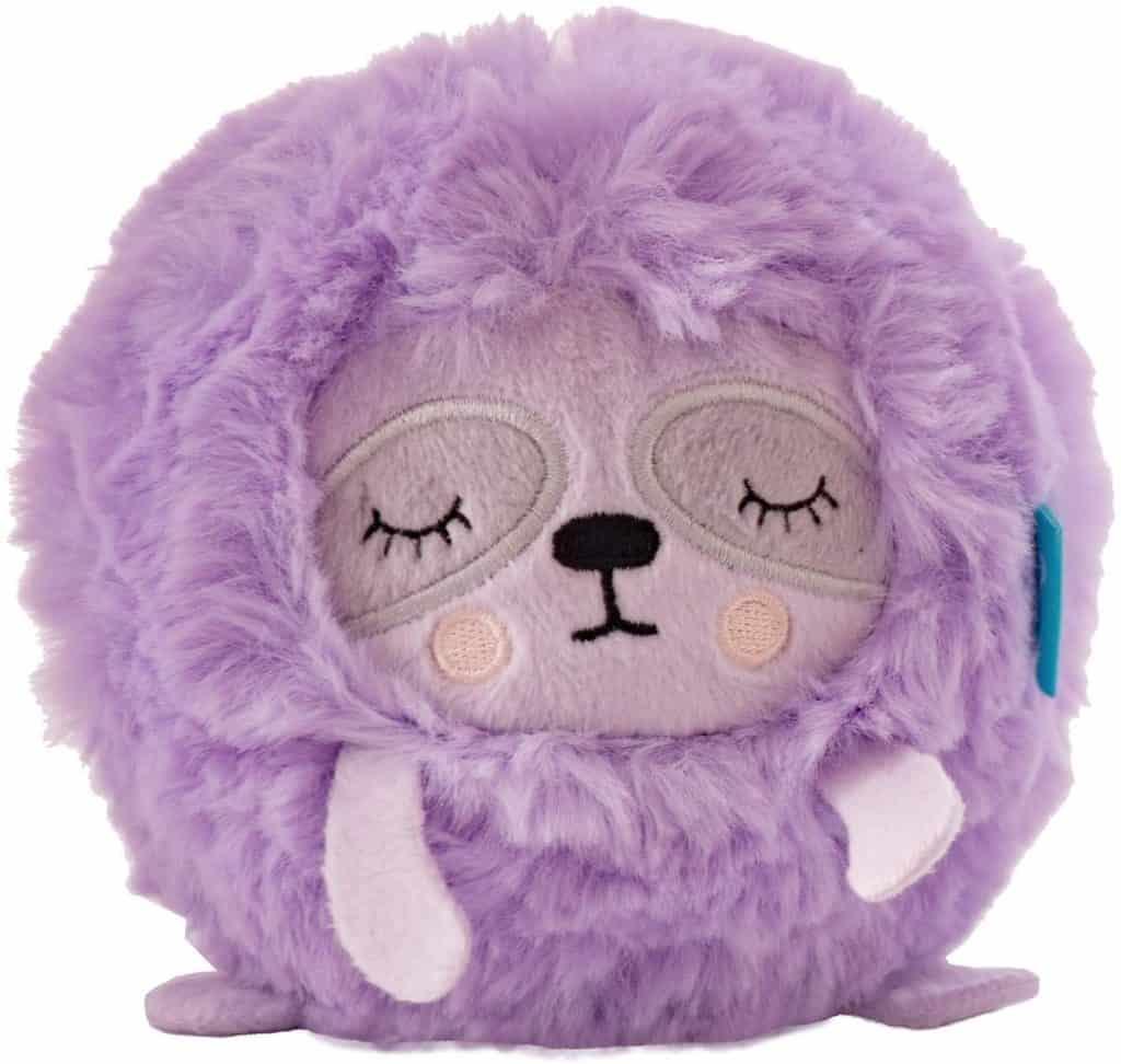 Squeezable sloth stuffed animal