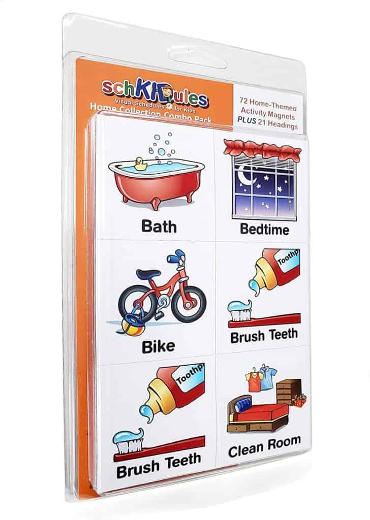 printable visual routine cards