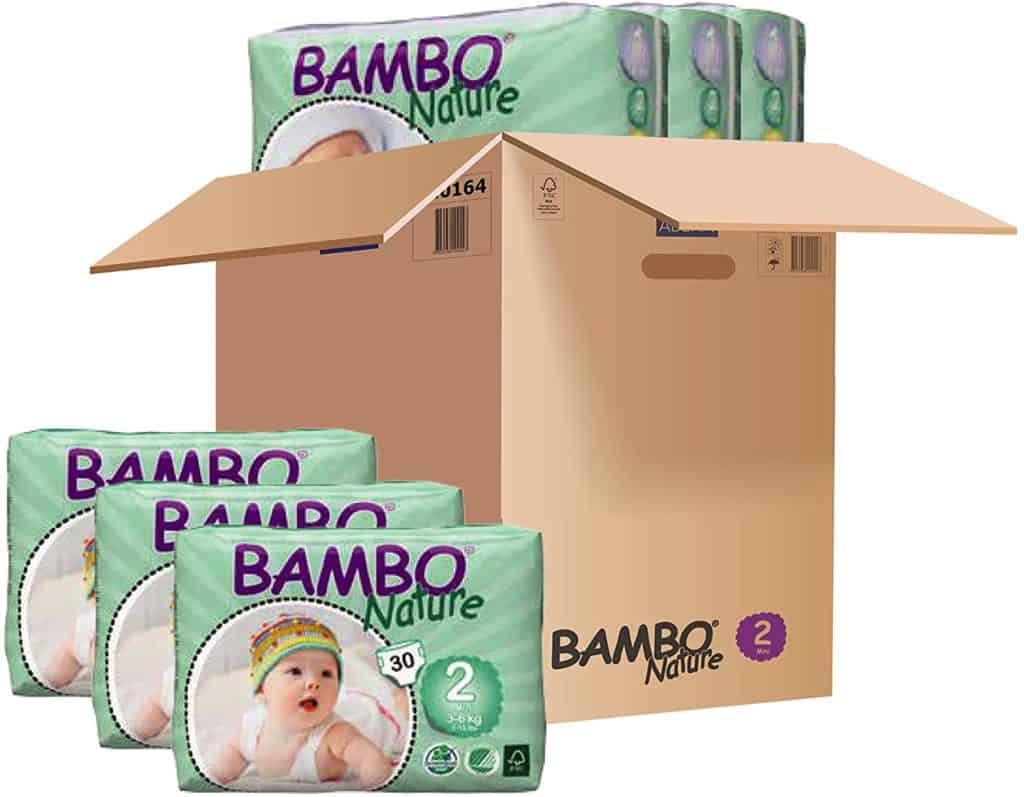 Bambo Nature Baby Diapers