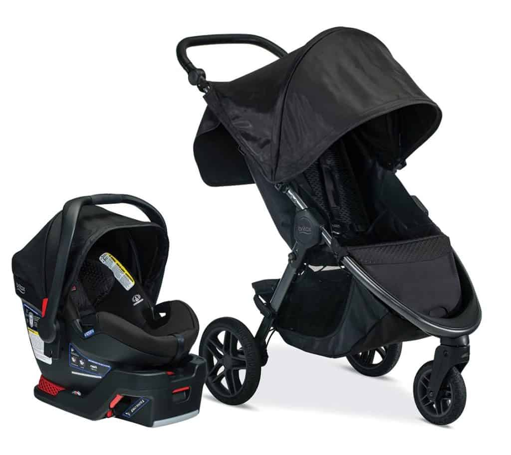 Britax B-Free and Safe Ultra Travel System