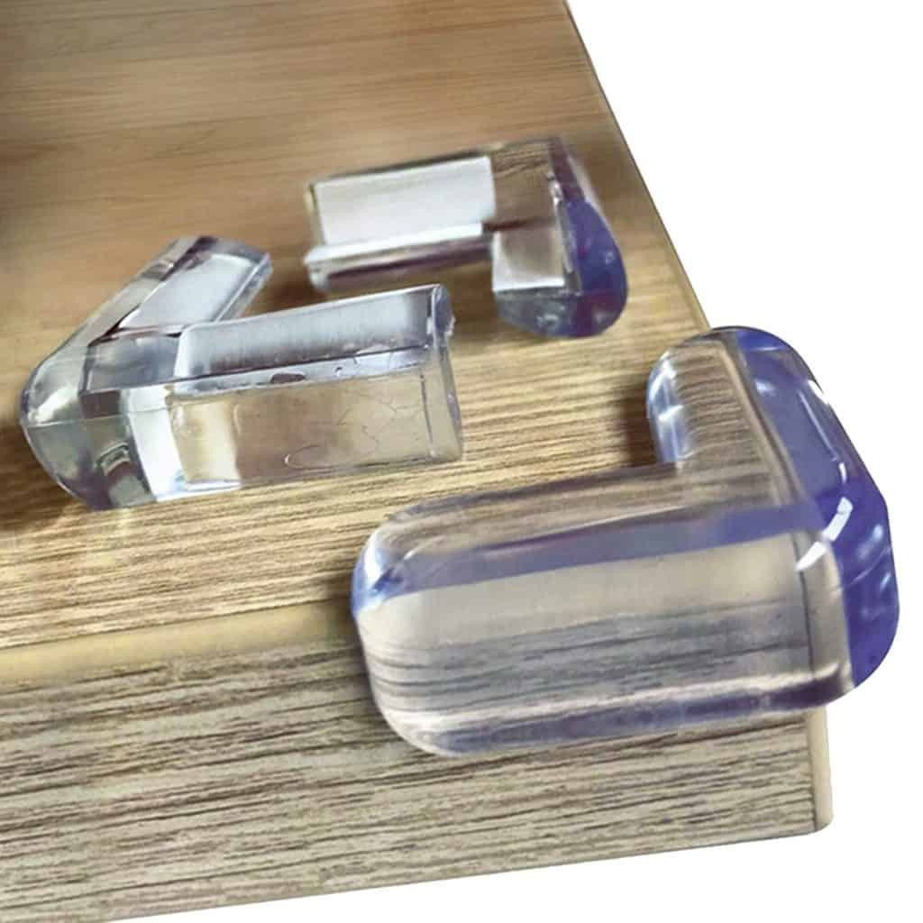 Clear Edge Bumpers Pack of 20 by Ellas Homes