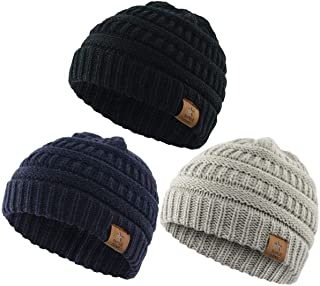 Durio Soft Warm Knitted Baby Hats
