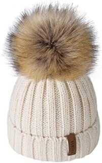 FURTALK Winter Knit Beanie Hats