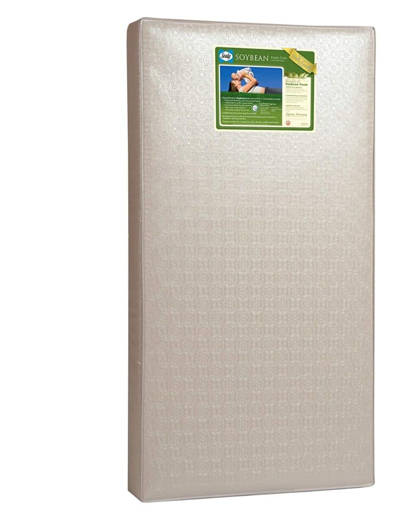 Sealy Soybean Natural Dream Infant or Toddler Crib Mattress