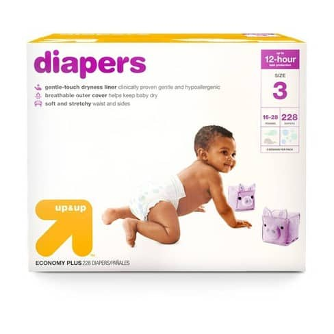 Target Up & Up Diapers
