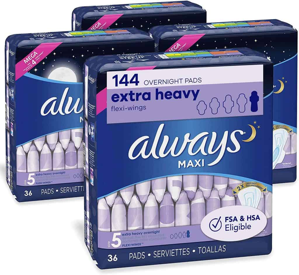 Always Maxi Overnight Pads