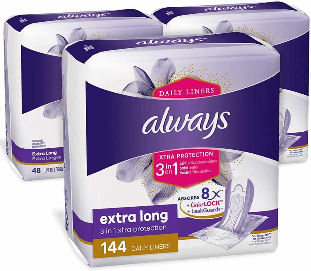 Always Xtra Protection Daily Panty Liners