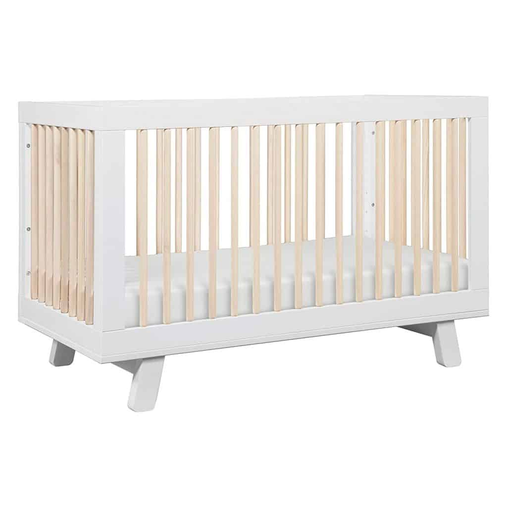 Babyletto Hudson 3-in-1 Convertible Crib with Toddler Bed Conversion Kit - Best Cribs For Babies