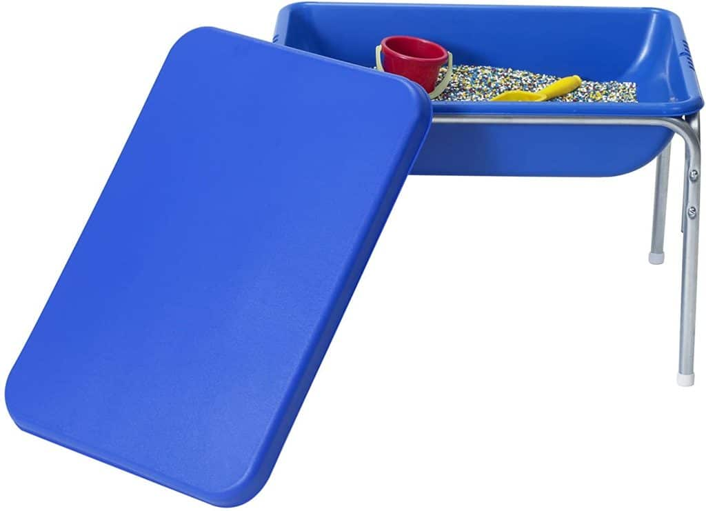 Children's Factory Small Sensory Table with Lid for toddlers