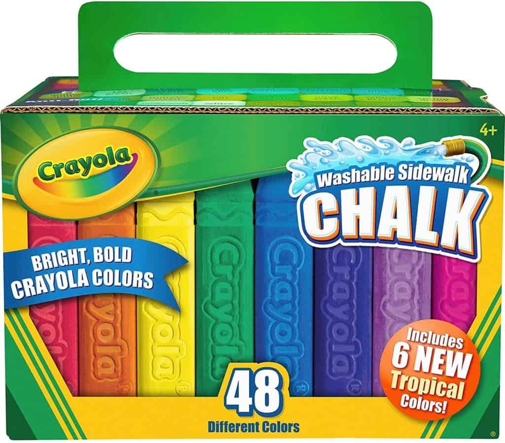 Crayola Creative Kids 48ct Sidewalk Chalk