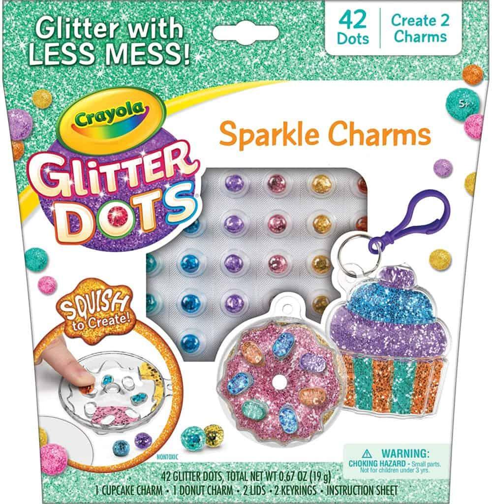 Crayola Glitter Dots Sparkle Charms