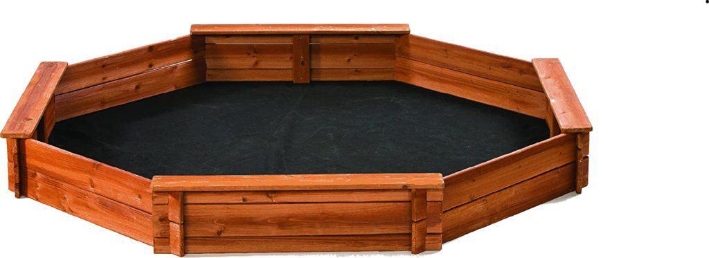 Creative Cedar Designs Octagon Sandbox