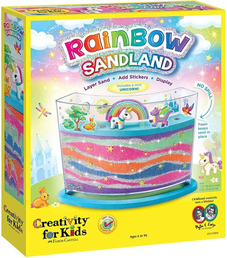 Creativity for Kids Rainbow Sandland