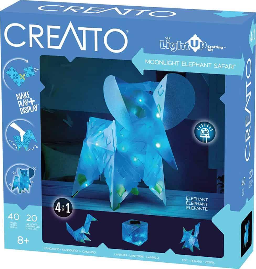 Creatto Moonlight Elephant Safari Light-Up Crafting Kit