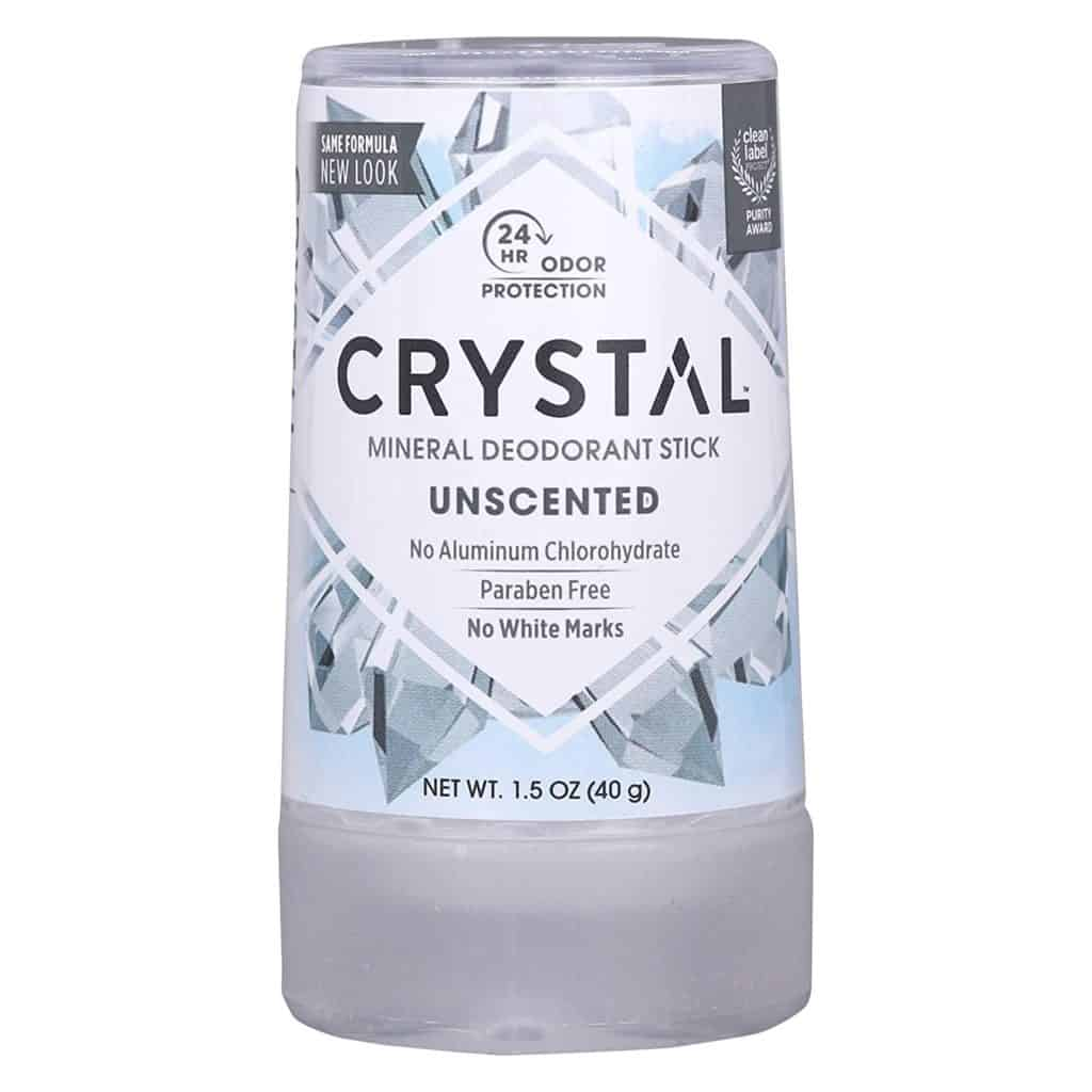 Crystal Mineral Travel Deodorant Stick