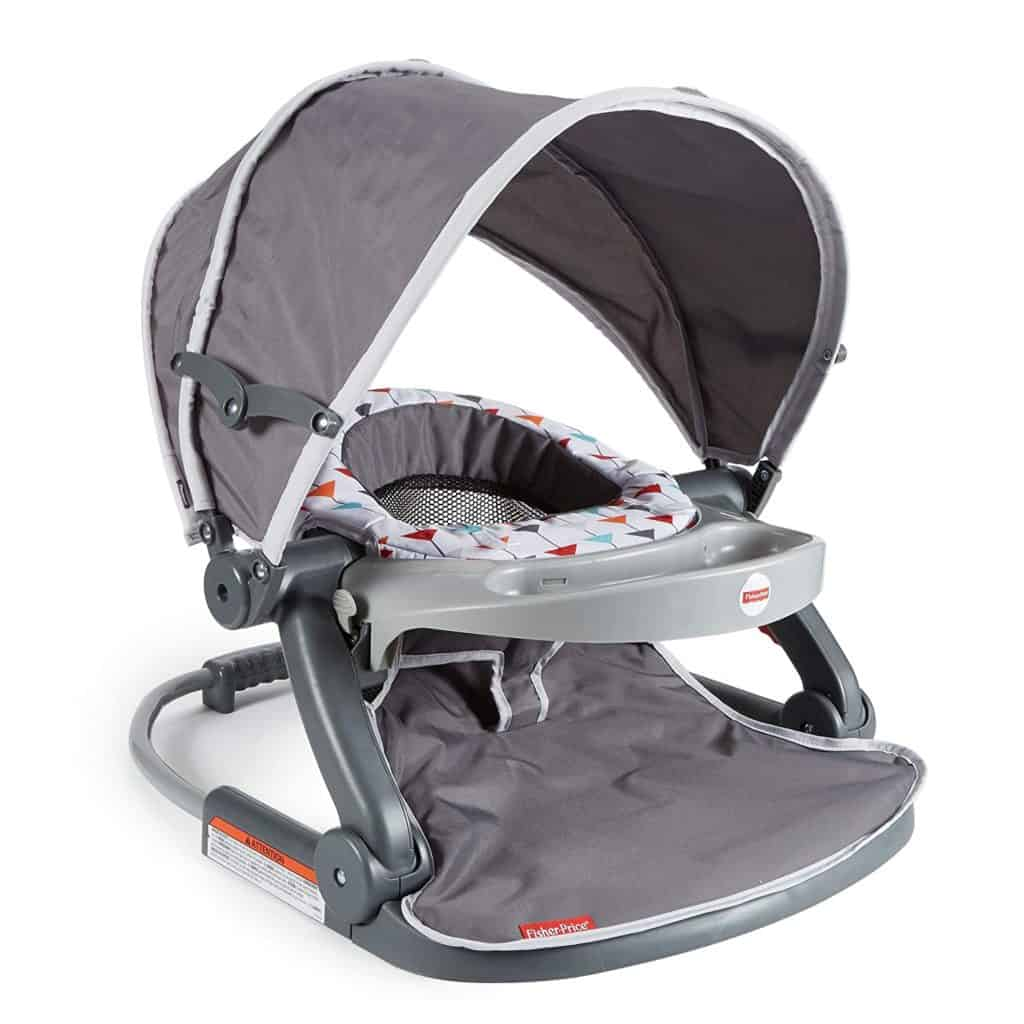Fisher-Price Sit-Me-Up-On-The-Go- Floor Seat