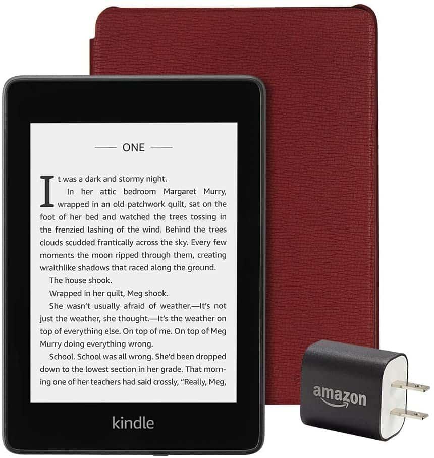 Kindle Essentials Bundle E-Reader