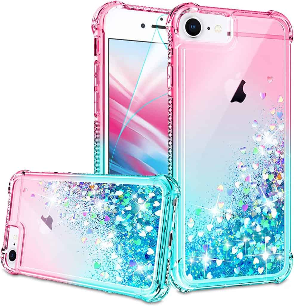 Liquid Glitter Phone Cases; Gift For 14-Year-Old Girls