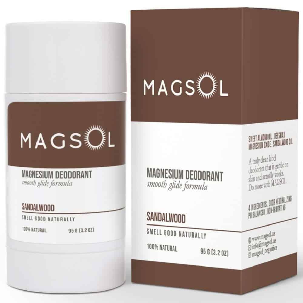 Magsol Magnesium Natural Deodorant