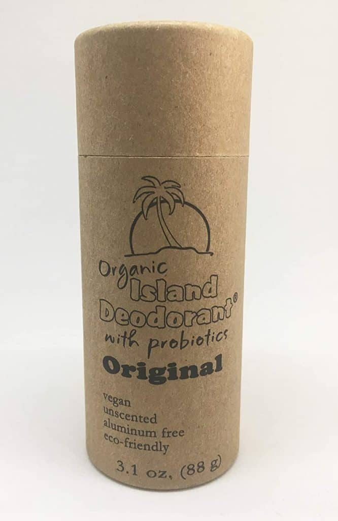 Organic Island Deodorant Stick