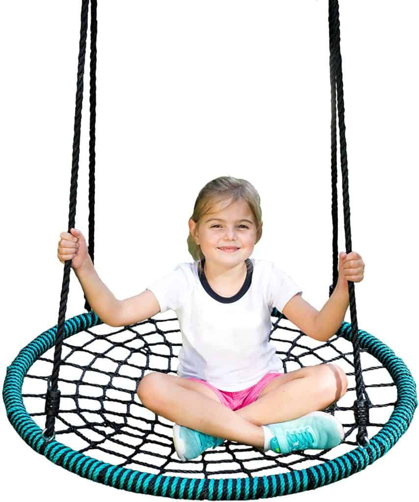 Play Platoon Spider Web Tree Swing for the toddler