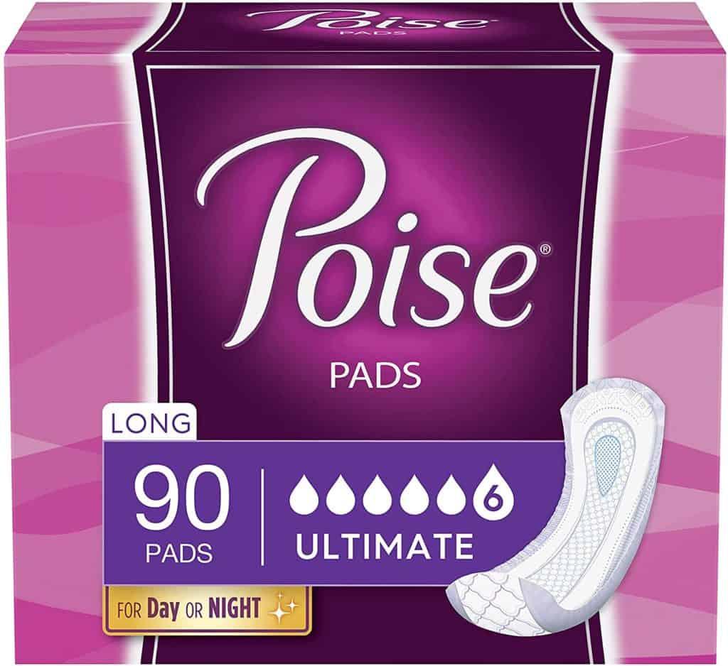 Poise Incontinence Postpartum Pads