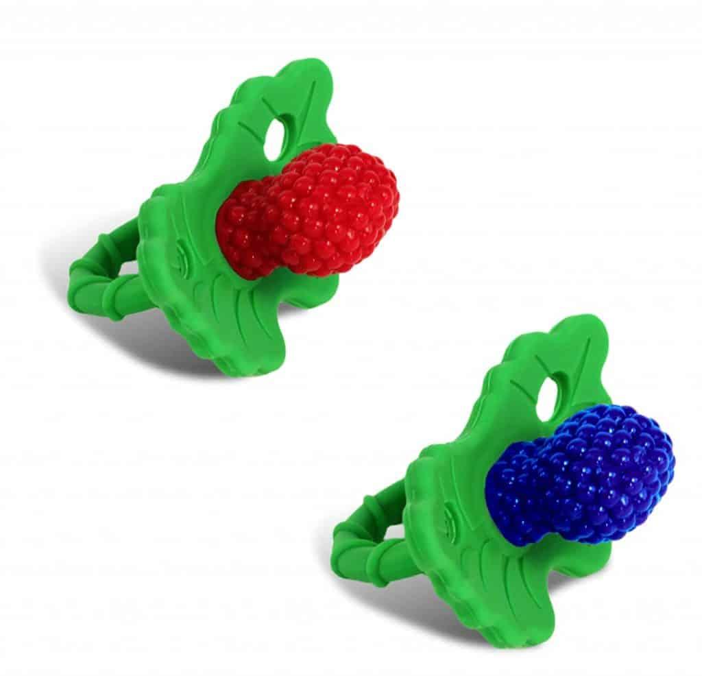 RaZbaby RaZ-berry Teether - Best Pacifiers