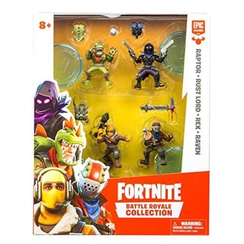 Fortnite Battle Royale Collection Squad Pack; Best Gifts For 8-Year-old Boy