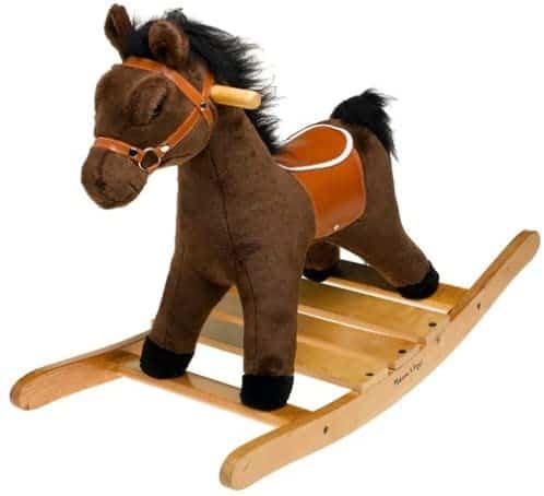 Melissa & Doug Plush Rocking Horse