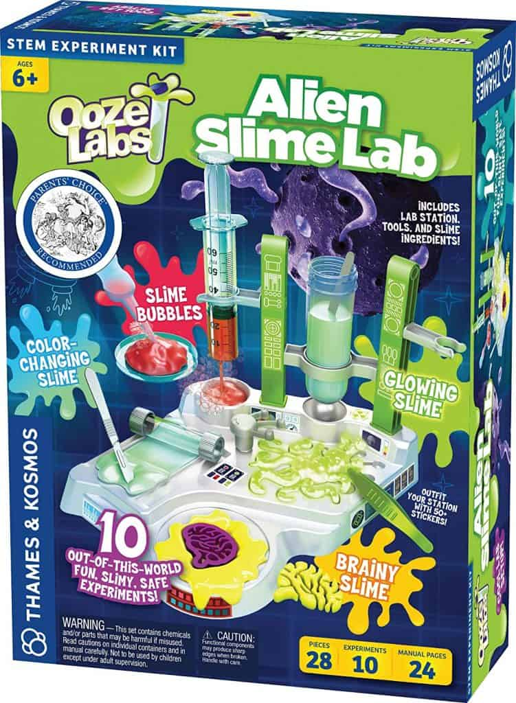 Ooze Labs - Alien Slime Labs; Best Gifts For 8-Year-old Boy