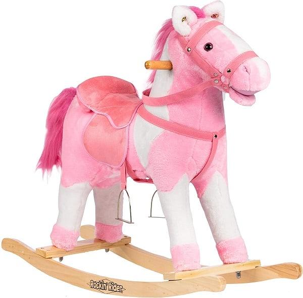Rockin' Rider Tulip Rocking Horse