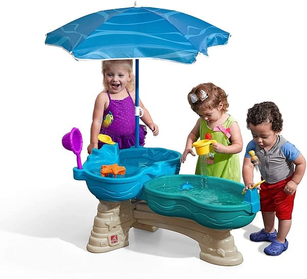 Step2 Splash and spill seaway water table