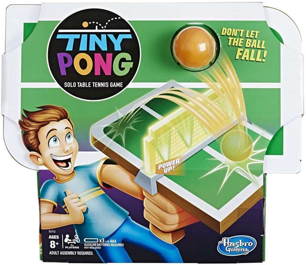 Tiny Pong; Best Gifts For 8-Year-old Boy