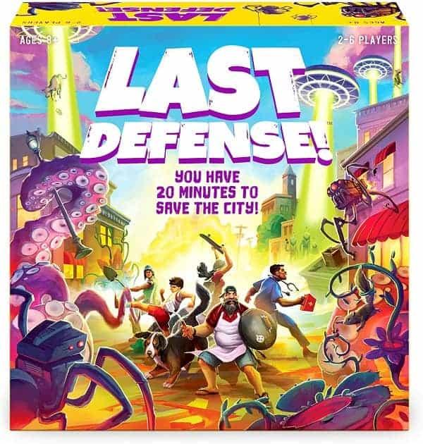 Last Defense! Board Game