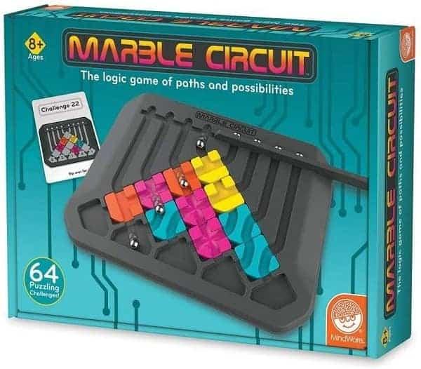 Marble Circuit Logic Board Game