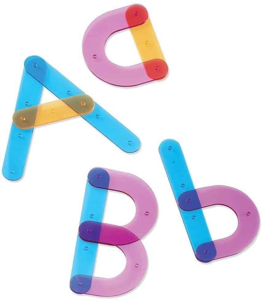 Activity - Letter Construction Set, $26.98 - Best Montessori Toys