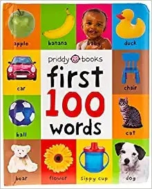 Board Book - 100 First Words, $4.78 - Best Montessori Toys