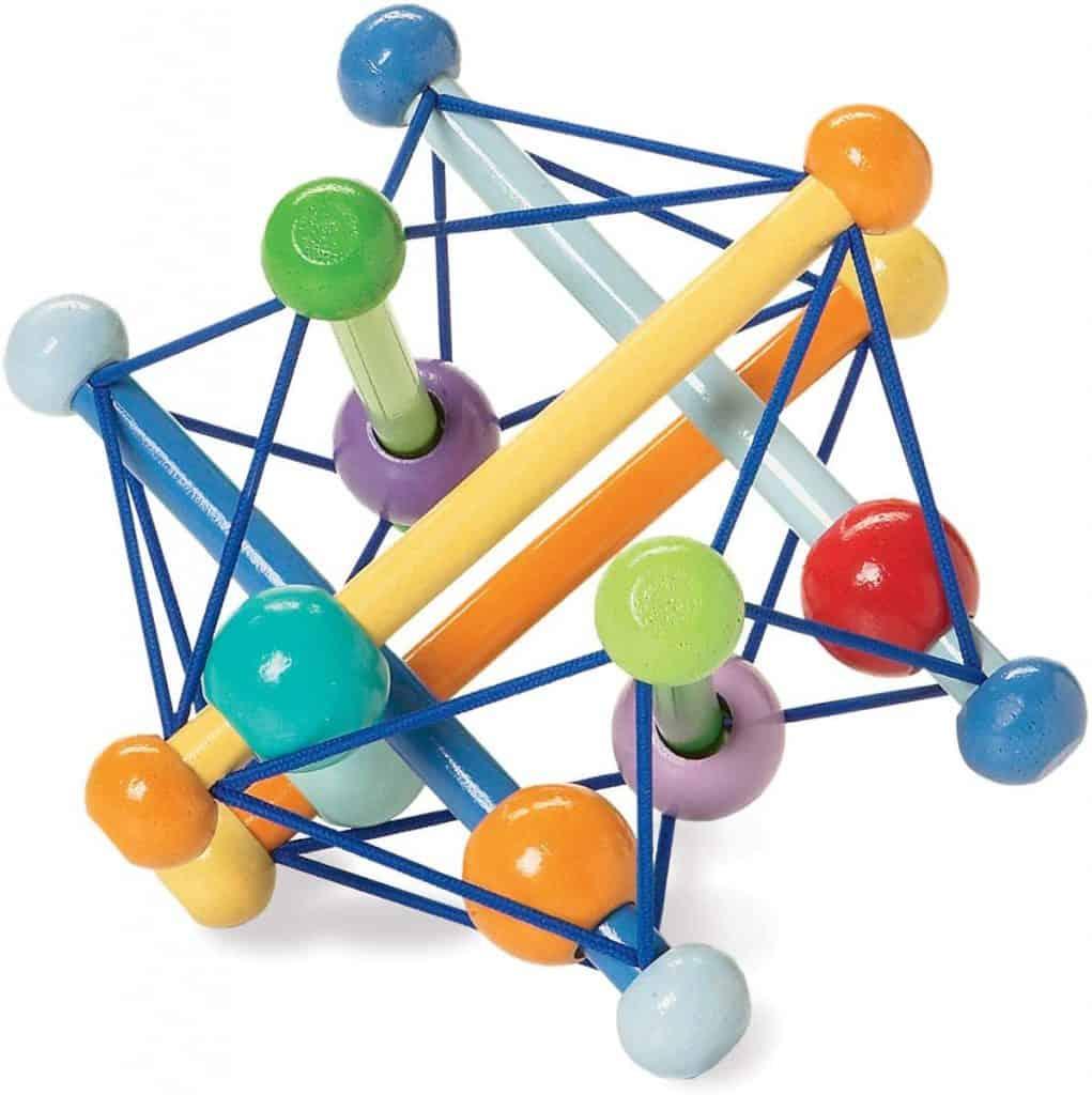 Grabbing Toy Manhattan Toy Skwish Rattle, $17.49 - Best Montessori Toys