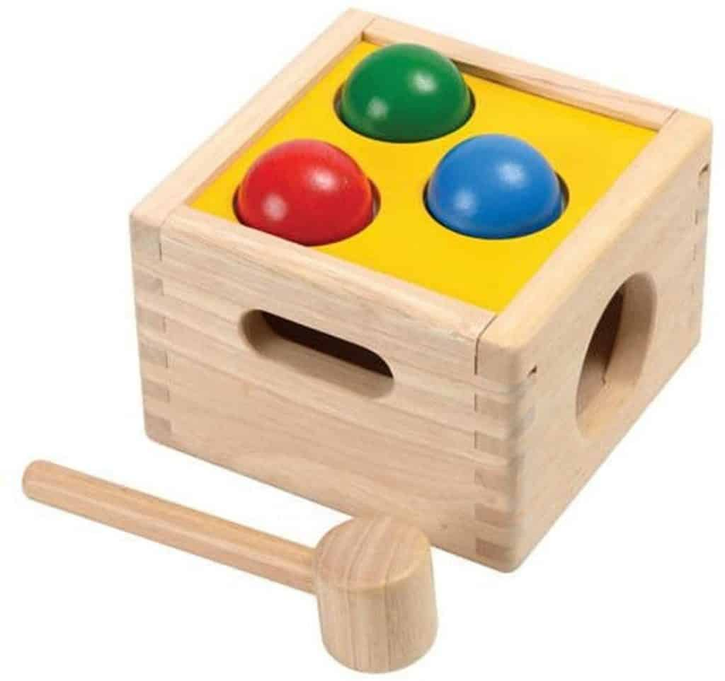Hammer Toy - Plan Toys Punch and Drop, $39.99 - Best Montessori Toys