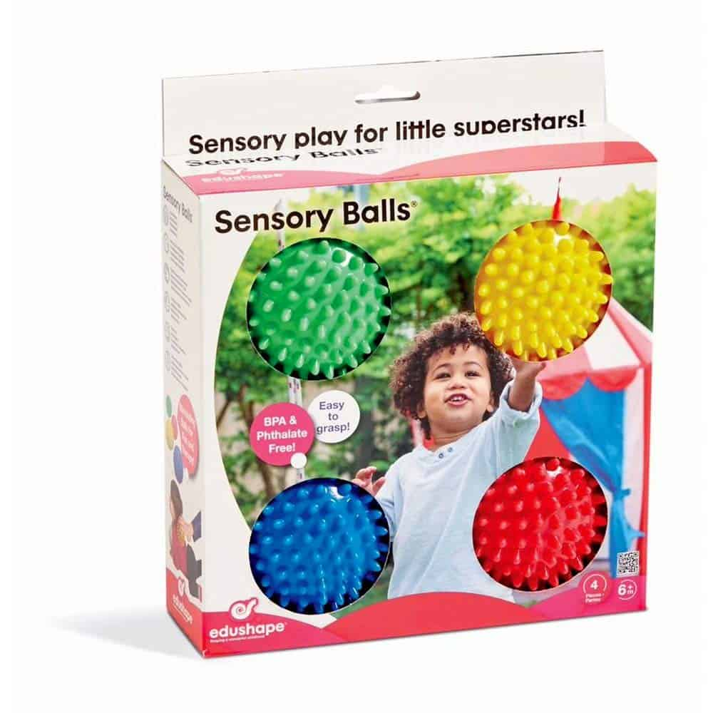 "Sensory Toy - Sensory Edushape Balls, 4"", $15.95 - Best Montessori Toys"